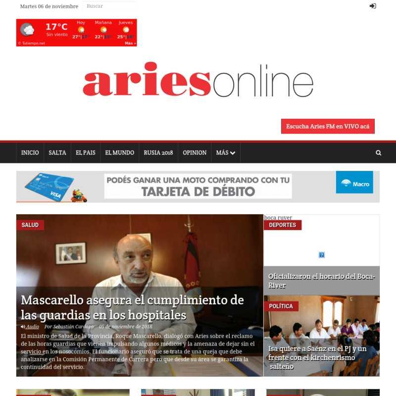Aries On Line