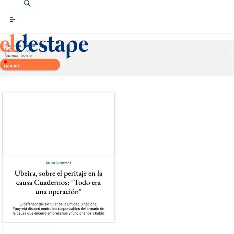 El Destape Web