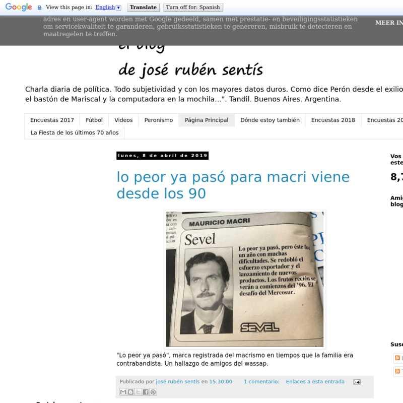 José Rubén Sentís