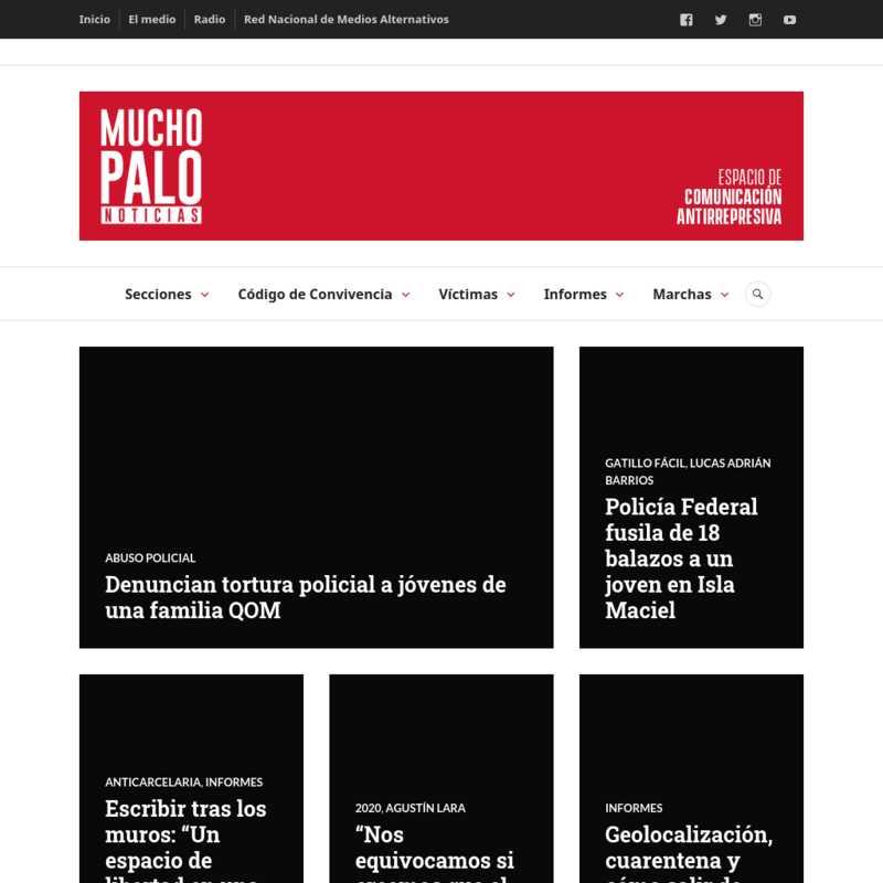 Mucho Palo Noticias