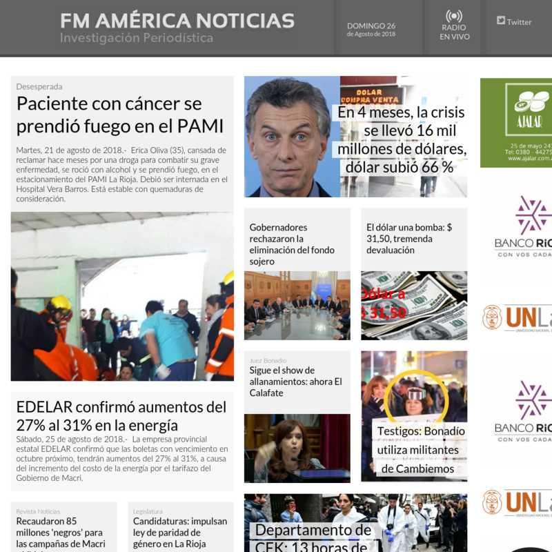 FM América Noticias
