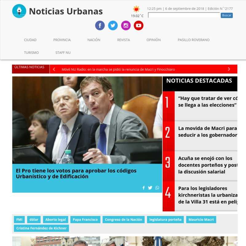 Noticias Urbanas