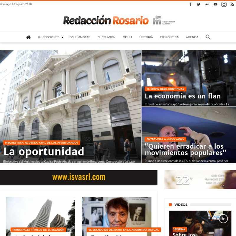 Redacción Rosario